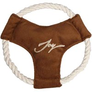 Тарелка Фрисби D16см JOY текстильная игрушка для собак