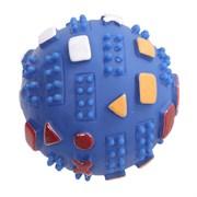 Мяч пупырчатый 7см Шурум-Бурум виниловая игрушка для собак (VT121018)