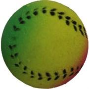 Мяч Радуга спортивный 4см Шурум-Бурум каучуковая игрушка для собак (WP-R40)