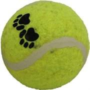 Мяч Лапки теннисный 6,3см Шурум-Бурум игрушка для собак (WP-6331)