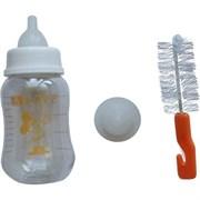 Бутылочка 150мл Шурум-Бурум с соской и щеточкой (Р877-А)