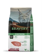 Корм 7кг BRAVERY курица для стерилизованных кошек