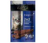 Колбаски-мини Эдель Кэт 4шт форель/солод для кошек (1001873)