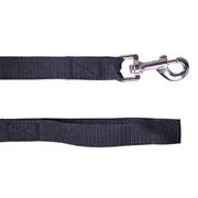 Поводок 25мм х 10м стропа ШУРУМ-БУРУМ черный для собак