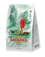 Корм 1кг SAVARRA утка/рис для собак мелких пород (5649020)