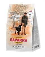 Корм 1кг SAVARRA индейка/рис для собак  (5649040)