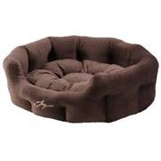 Лежанка круглая 60х50х21см JOY темная для собак