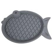 Коврик под миску Рыбка 48х33х2,4см Шурум-Бурум (Р1096)