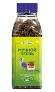 Мучной червь 500мл, 90г Шурум-Бурум лакомство для грызунов и птиц