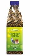 Мучной червь 1000мл, 175г Шурум-Бурум лакомство для грызунов и птиц