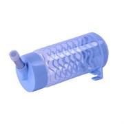 Поилка 400мл Шурум-Бурум синяя пластиковая для грызунов (Р1223)