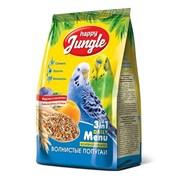Корм 500г HAPPY JUNGLE для волнистых попугаев (J102)