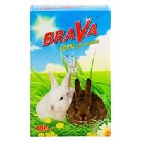 Корм 400г BRAVA для кроликов