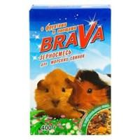 Корм 400г BRAVA с фруктами и овощами для морских свинок