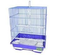 Клетка 30х23х39см прямоугольная для птиц (ДКпА105)