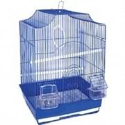Клетка 35х28х46см фигурная для птиц (ДКпА412)