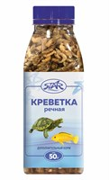 Корм 50г STAR креветка сухая ломанная для водных черепах и ящериц