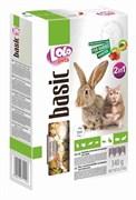 Корм 340г Lolo Pets 2в1 овоще-фруктовый для кроликов (Lo-71124)
