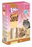 Песок 1,5кг ЛолоПетс для шиншиллы (LO-71051)