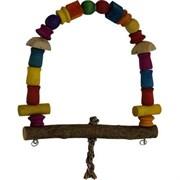 Качели Арка деревянная игрушка для птиц (ВТ 1204)